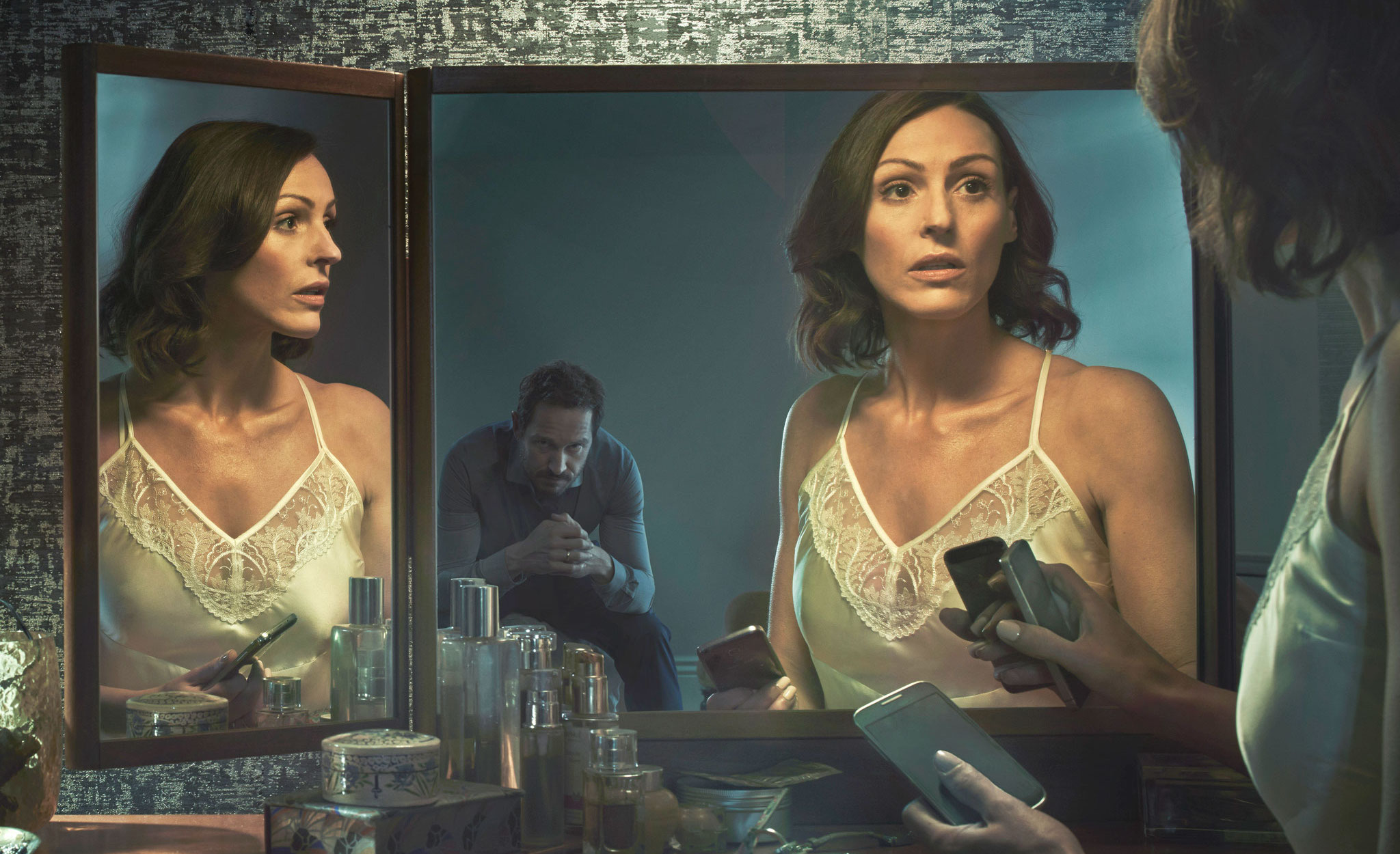 Suranne plays Gemma Foster, a GP whose life is torn apart when she learns of her husband's affair.