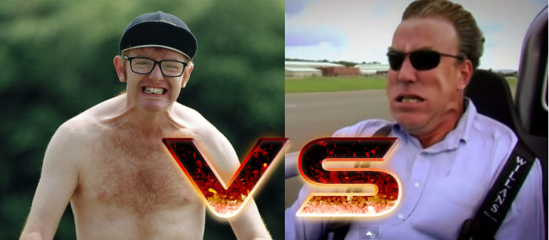 jeremy clarkson vs chris evans
